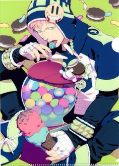Candy King - Noiz is man after my own heart 『 DRAMAtical Murder 』