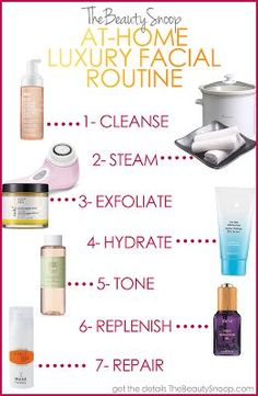 No time or cash for a 100$ facial? I'll let you know how this routine goes ! :D