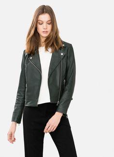 Blusão napa verde