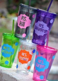 teacher appreciation gifts...perfect!