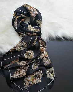 100% silk satin 17565 screen print machine hem.  Custom|Wholesale silk scarf we produce silk scarves our advantage is digital printing. Well finished by hand rolled hem and machine sew. Pls enquire if you have any ideas or questions!