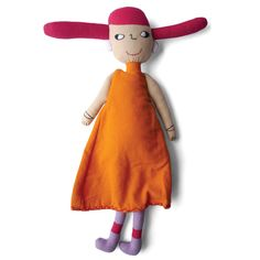 Dolls made of 100% cotton hand woven fabrics with non toxic dyes, hand crafted in eco friendly production, fairtrade standards, CE certified byAlexa Lixfeld