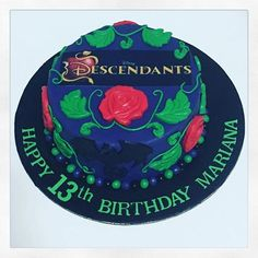 Image result for descendants birthday cake