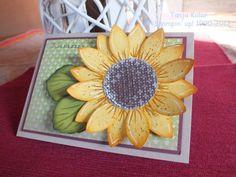 Sonnenblumen mit Papier selber gestalten