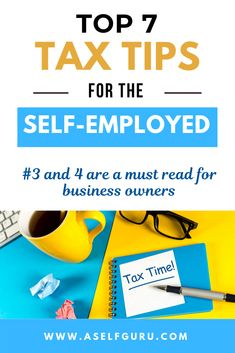 Here are 7 tax tips you must know if you are self employed that are often overlooked by business owners. Learn about self-employment taxes, tax deductions and much more! Small Business Tax, Business Tips, Online Business, Make Money Blogging, How To Make Money, Saving Money, Business Tax Deductions, Sole Proprietorship, Blogging For Beginners