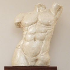 Global Views Heroic Torso Sculpture in Marble Finish Human Sculpture, Roman Gods, Figure Reference, Drawing Reference, Male Torso, Decorative Accessories, Sculpting, Design, Anatomy