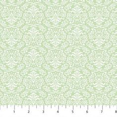 Damask Sweet Pea Green and White floral filigree by fabricfrantic Printable Paper, Vintage Flowers, Damask, Scrapbook Paper, Swatch, Printables, Trending Outfits, Wallpaper, Handmade Gifts