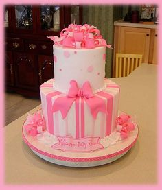 Pinks Baby Shower Repeat by cakesbyashley, via Flickr