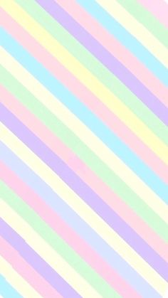 Pastel stripe wallpaper shared by 𝓈𝒶𝓂𝒶𝓃𝓉𝒽𝒶 𝓈𝑒𝓇𝑒𝓃𝒶 Cute Pastel Wallpaper, Rainbow Wallpaper, Cute Patterns Wallpaper, Striped Wallpaper, Iphone Background Wallpaper, Kawaii Wallpaper, Print Wallpaper, Screen Wallpaper, Aesthetic Iphone Wallpaper