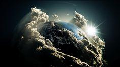 Space earth digital art artwork photo manipulation wallpaper