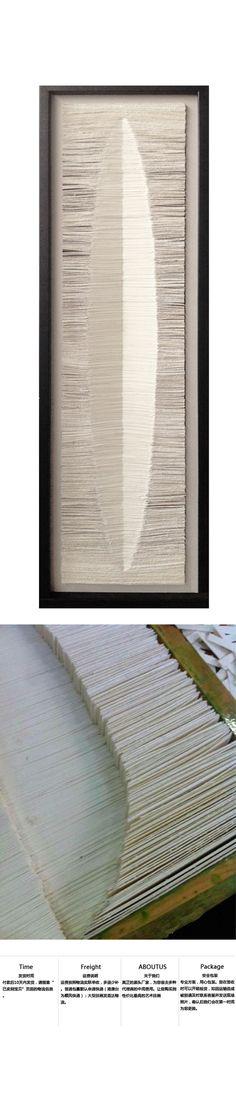 本墨装饰画 样板房装饰画切纸纸张上色禅意...