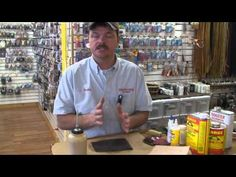 Springfield Leather Company's Helpful Hints: Adhesive Savvy - YouTube