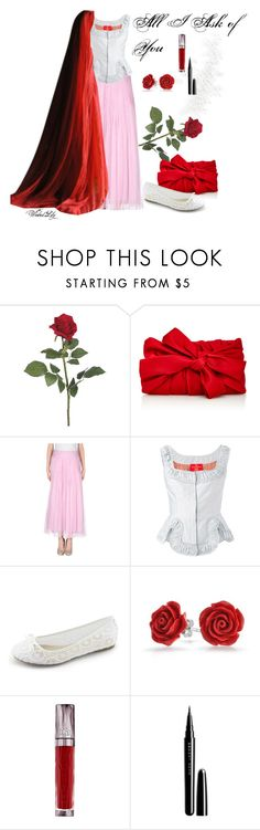 """All I Ask of You-Christine Daae from ""The Phantom of  the Opera"""" by le-piano-argent ❤ liked on Polyvore featuring Paule Ka, Renato Nucci, Vivienne Westwood Red Label, Bling Jewelry, Urban Decay and Marc Jacobs"