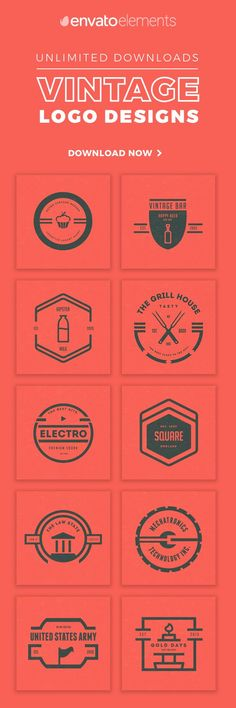Unlimited Downloads of 2018's Best Logo Designs