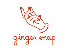Rebranded logo for Ginger Snap Design