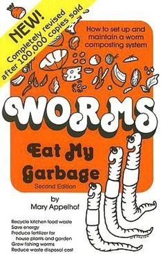 If you are interested in getting started with worm composting, this is a classic book.  Worm castings are the best compost your garden can get!