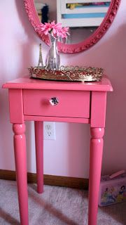 Favorite Paint Colors: pink