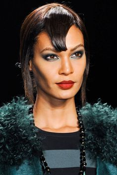 The Hottest Makeup Trends For Fall 2014 - Color Theory - Anna Sui