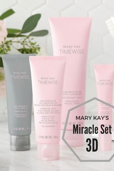 Want to know all about Mary Kay's newest skincare set? Look no further! Check out why you need these products in your life! || #MaryKay #MiracleSet3D #AntiAging
