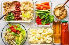 Výzva na břicho | PestrýJídelníček.cz Vegan Meal Plans, Free Meal Plans, Vegan Meal Prep, Vegan Meals, Vegan Recipes Beginner, Recipes For Beginners, Plant Based Whole Foods, Plant Based Diet, Whole Food Diet