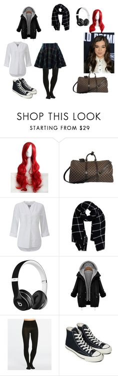 """""""Escape Part 2"""" by bruna-rogers on Polyvore featuring moda, WithChic, Pure Collection, Warehouse, Beats by Dr. Dre, SPANX, Converse e Chicwish"""