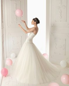 aire barcelona wedding gowns 2013