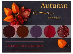 Bluesky UK World Dark Nights Bluesky Gel Polish Collection Autumnal Shades