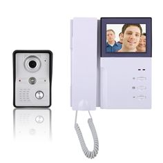 "Like and Share if you want this  4"" Inch Video Door Intercom Phone Intercom System Doorbell Kit   Tag a friend who would love this!   FREE Shipping Worldwide   Buy one here---> https://salecurrents.com/4-inch-video-door-intercom-phone-intercom-system-doorbell-kit/"