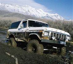 1978 Ford Bronco powered by a 460 V8