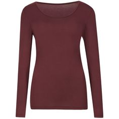 Heatgen Thermal Long Sleeve Top M&S ($23) ❤ liked on Polyvore
