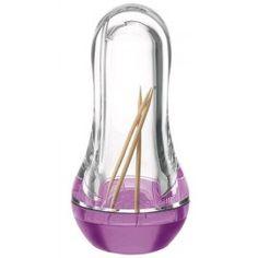 Porte pics, Distributeur de cure-dents lilas Guzzini 14.90 € livré gratuitement dans le relais colis de votre choix !