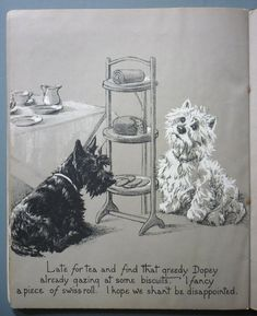 Geïllustreerd; Marjorie Turner - Gallant and Dopey. Pages from a Dog's Scrap Book - (1930)