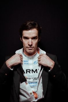 Professional cyclist portraits by Richard Baybutt - David Millar … more than a cyclist
