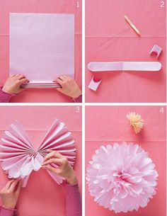 DIY Party Decorations These might be easier to make than the cupcake papers and coffee filters decor. If the ceilings are not too tall we could do this in Red, White, and Silver (large paper pom poms) Crafts For Teens, Diy And Crafts, Paper Crafts, Diy Party Decorations, Birthday Decorations, Graduation Decorations, Bachelorette Decorations, Casino Decorations, Decor Diy