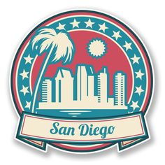 2 X San Diego Usa America Sticker Car Laptop Travel Luggage Flag Tag 6745 San Diego Usa, San Diego City, Car Bumper Stickers, Laptop Stickers, Travel Sticker, Brandy Melville Stickers, Flag Tag, Tumblr Stickers, Aesthetic Stickers