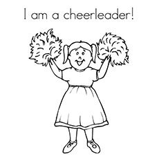 cheerleading coloring pages - Google Search | cheerleading coloring ...