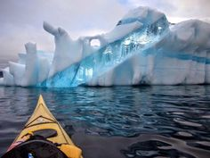 In this incredible photo we see an amazing looking iceberg spotted off the coast of Newfoundland, Canada. O Canada, Iceberg, Newfoundland And Labrador, Newfoundland Canada, Deco Nature, Morning Pictures, Photos Of The Week, Adventure Is Out There, Amazing Nature