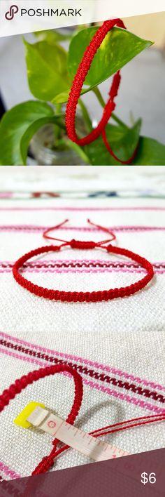 Great Photographs thin Macrame bracelets Tips Kabbalah Red Thin Macrame Bracele. Great Photographs thin Macrame bracelets Tips Kabbalah Red Thin Macrame Bracelet Bundle for of Hamsa Jewelry, Jewelry Art, Macrame Bracelets, Jewelry Bracelets, Red String Bracelet, Adjustable Knot, Macrame Patterns, Bracelet Patterns