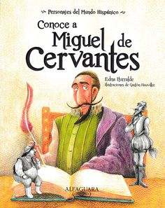 Miguel de Cervantes, the famed Spanish writer of one of the most acclaimed novels of all time,   Don Quixote  , had no shortage of inspiration for his work—his life was wild. In   Conoce a Miguel de Cervantes  , Don Quixote himself chronicles the adventures of his author's life, from being a soldier, to fighting sickness, to being captured and held in prison. While   Don Quixote   is known as an adventure story, Cervantes' life was an adventure, too!    ©2012. Spanish. Intermediate. 8 x 10…