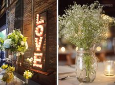Wonderful urban decor in our newest Real Wedding!  Real NC Wedding -- The Cookery in Downtown Durham - Southern Bride & Groom