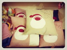 Pillows Yellow Shop, Christmas Stockings, Pillows, Holiday Decor, Shopping, Home Decor, Needlepoint Christmas Stockings, Decoration Home, Room Decor
