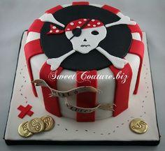 Gâteau Pirate Cake Skull
