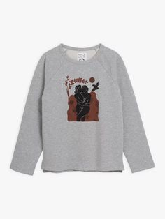 sweat mixte emilio Carne Bollente gris et marron T Shirt, Graphic Sweatshirt, Pret A Porter Feminin, Emilio, Motifs, Sweatshirts, Sweaters, Collection, Products