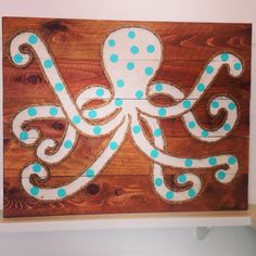 Polka dot octopus from www.mstreetartwork.com