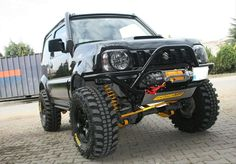 Jimny front bumper questions - Page 2 Suzuki Jimny Off Road, Jimny Suzuki, Off Road Bumpers, Winch Bumpers, Jimny 4x4, Samurai, Adventure Car, Toyota Land Cruiser Prado, High Road