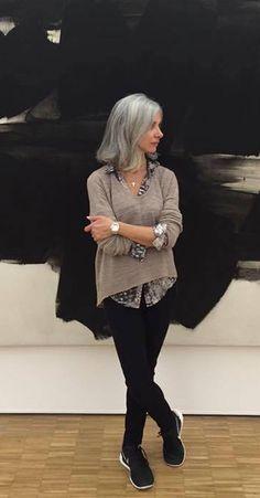 Silver hair #silverhair #greyhair