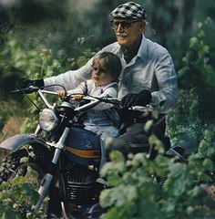 Never too old to ride, never too young to start.