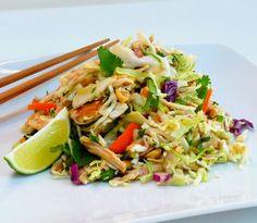 Thai Chicken Slaw