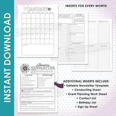 RSFB16B 2016 LDS Relief Society Binder and by LDSPrintable