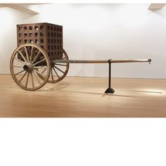 "Martin Puryear, ""The Load"", 2012, wood, steel, glass"